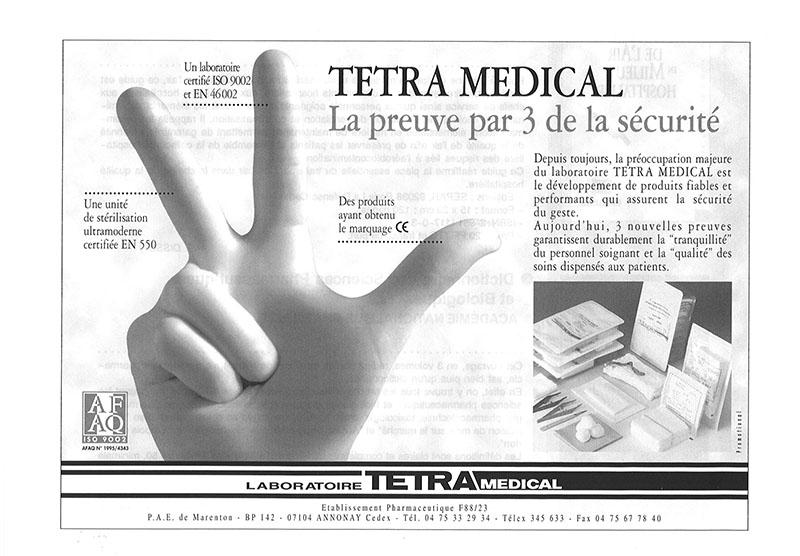 VISUEL 1995 TETRA CERTIFICATION